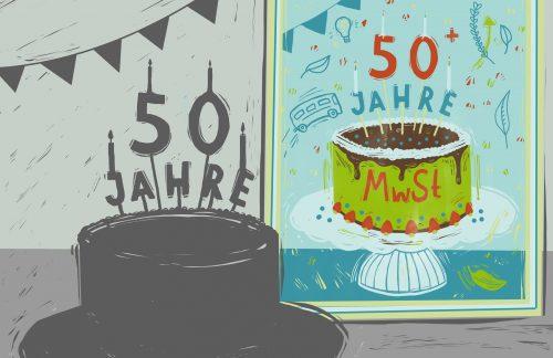 Happy Birthday, liebe Mehrwertsteuer!