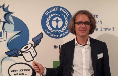 """""""Der Blaue Engel soll zum klimafreundlichen Einkauf anleiten"""""""