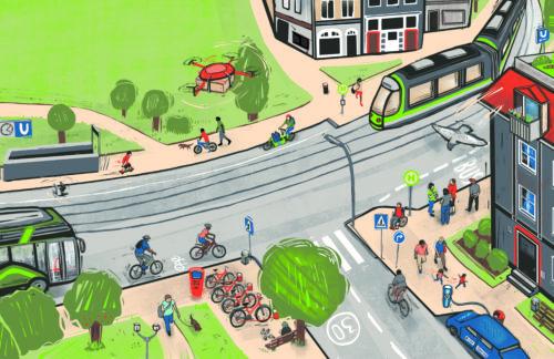 Neue Wege: Nachhaltige Mobilität am Wohnort