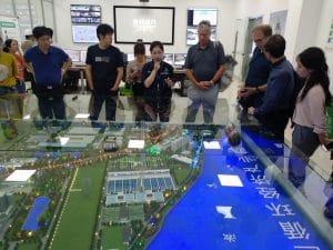 Besichtigung der Bioabfallvergärungsanlage in Suzhou, Quelle: Öko-Institut