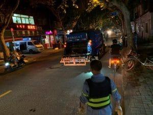 Die Müllabfuhr kommt in China nachts, Quelle: Öko-Institut