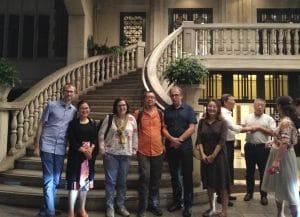 Das Abendprogramm mit Teilnehmenden von FES, SASS, GIZ, IW, CSCP und Öko-Institut, Quelle: Öko-Institut