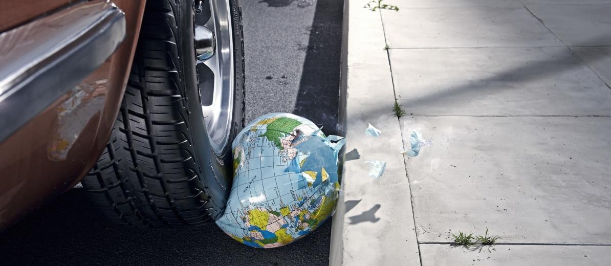 Autoverkehr zerstört das Klima. Quelle: plainpicture/Öko-Institut