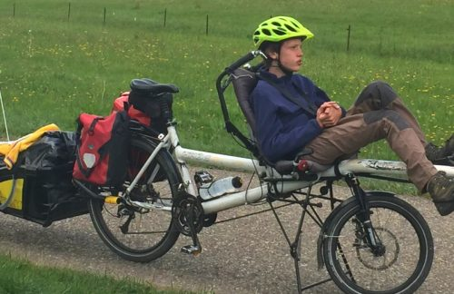 """Two weeks for future"": Mein Sohn, unser Tandem und ich/ Me, my son and our tandem [deu/eng]"