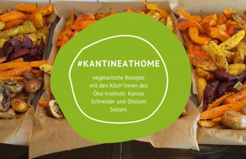 """Rezept """"Ofengemüse und glasierte Möhren"""" #kantineathome (1)"""