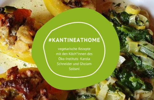 """Rezept """"Gefüllte Kartoffeln auf Spinat-Lauch-Creme"""" #kantineathome (10)"""