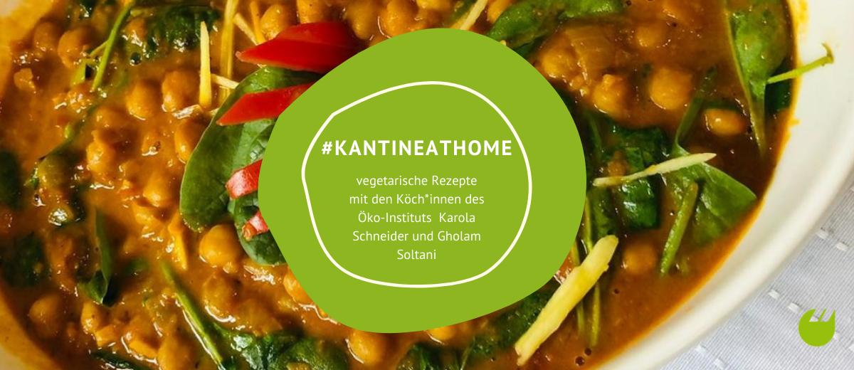 Kichererbsen-Spinat-Curry/ Quelle: Öko-Institut