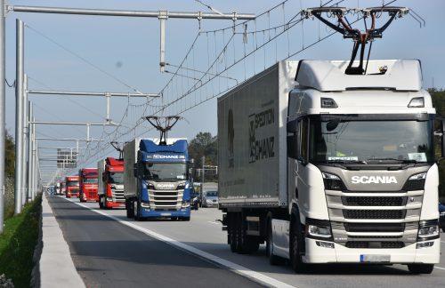 Energie für Elektro-Lkw: Schnelllader und Oberleitungen können sich sinnvoll ergänzen
